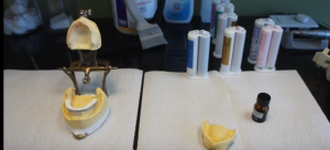 getting a new denture